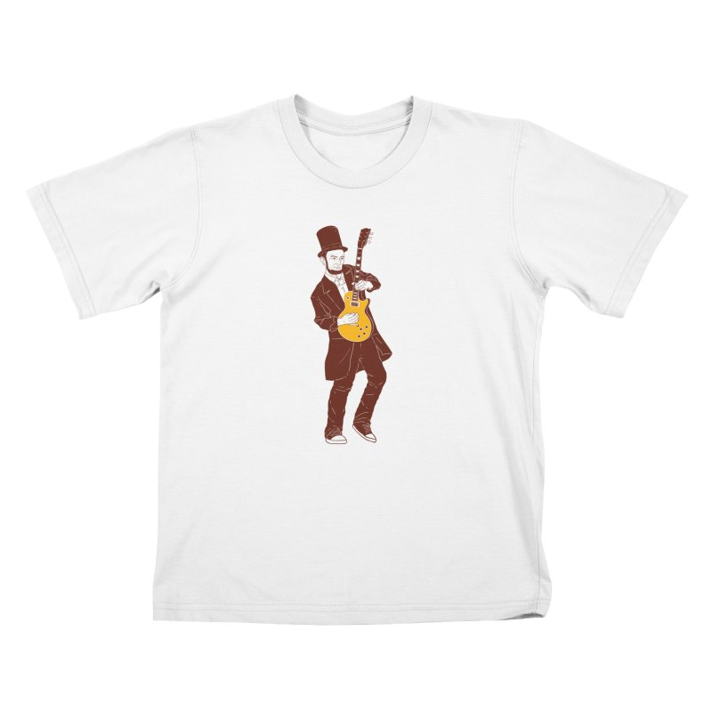 abraham slash Kids T-Shirt by hd's Artist Shop
