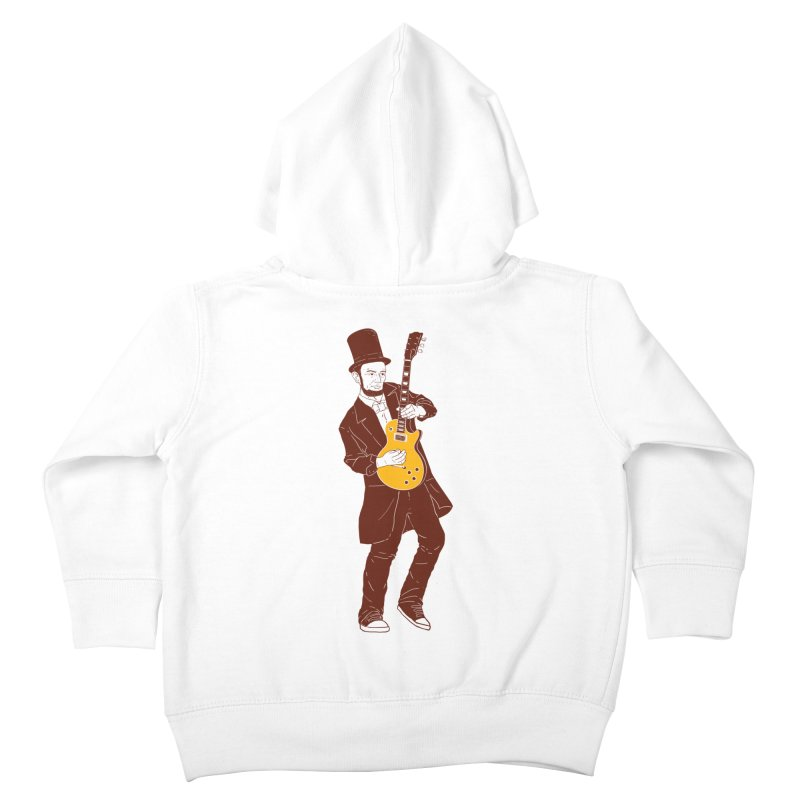 abraham slash Kids Toddler Zip-Up Hoody by hd's Artist Shop