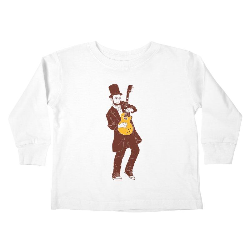 abraham slash Kids Toddler Longsleeve T-Shirt by hd's Artist Shop