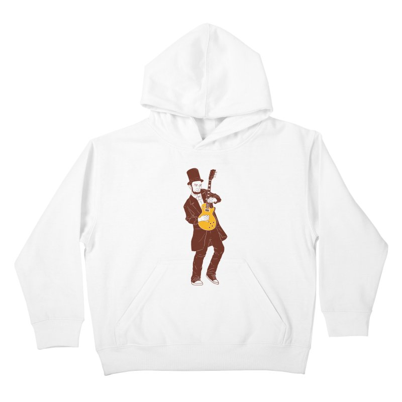 abraham slash Kids Pullover Hoody by hd's Artist Shop
