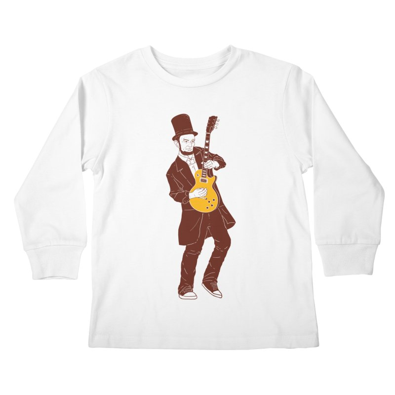 abraham slash Kids Longsleeve T-Shirt by hd's Artist Shop