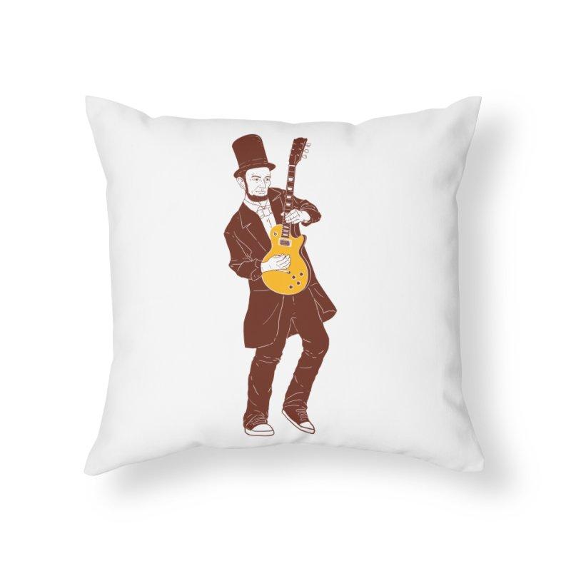 abraham slash Home Throw Pillow by hd's Artist Shop