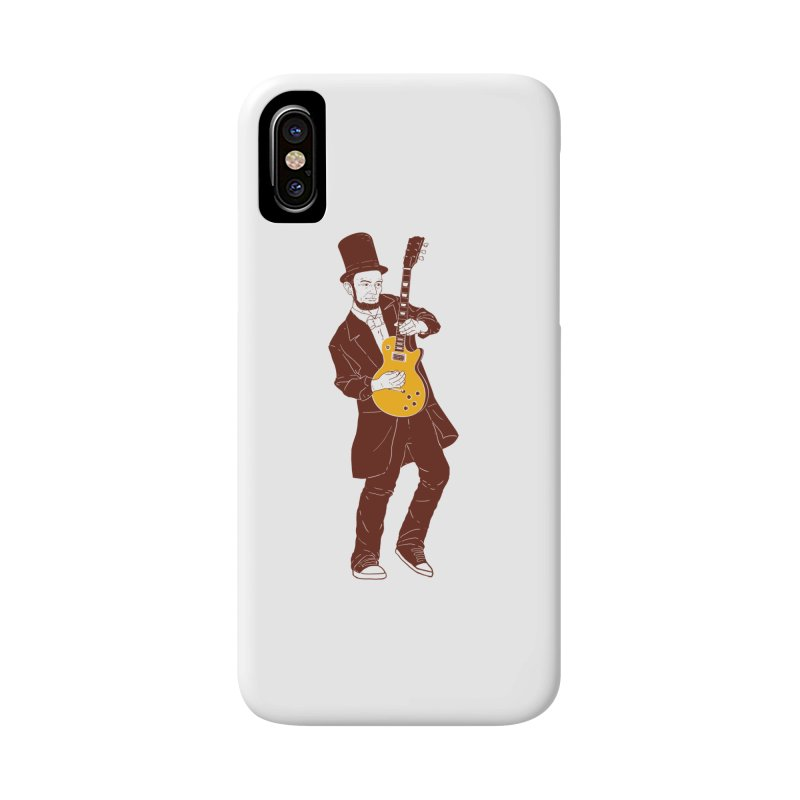 abraham slash Accessories Phone Case by hd's Artist Shop