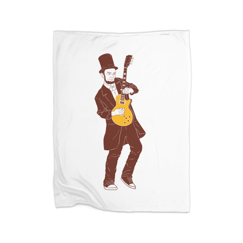 abraham slash Home Fleece Blanket Blanket by hd's Artist Shop