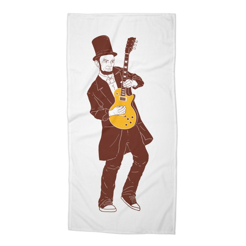 abraham slash Accessories Beach Towel by hd's Artist Shop