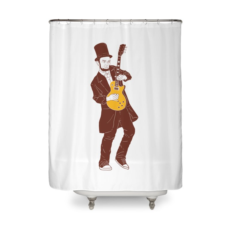 abraham slash Home Shower Curtain by hd's Artist Shop