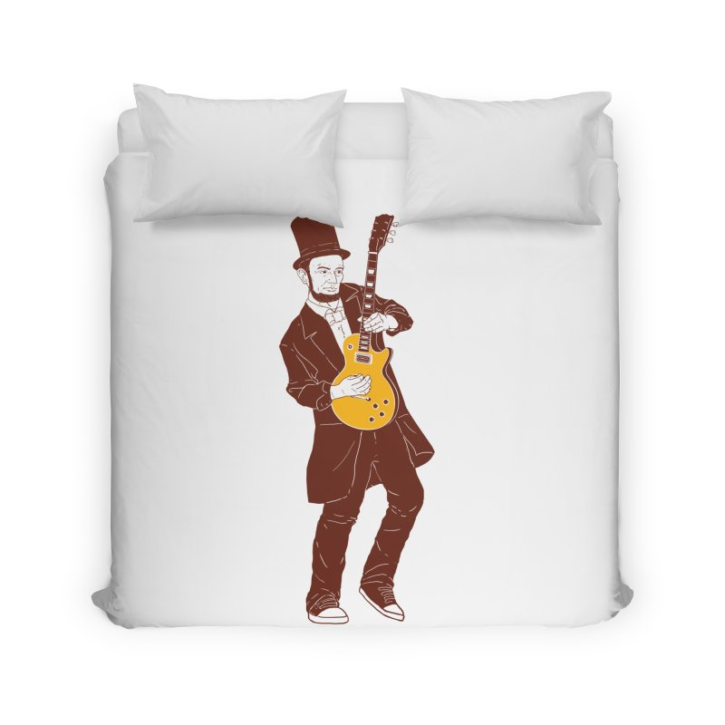abraham slash Home Duvet by hd's Artist Shop