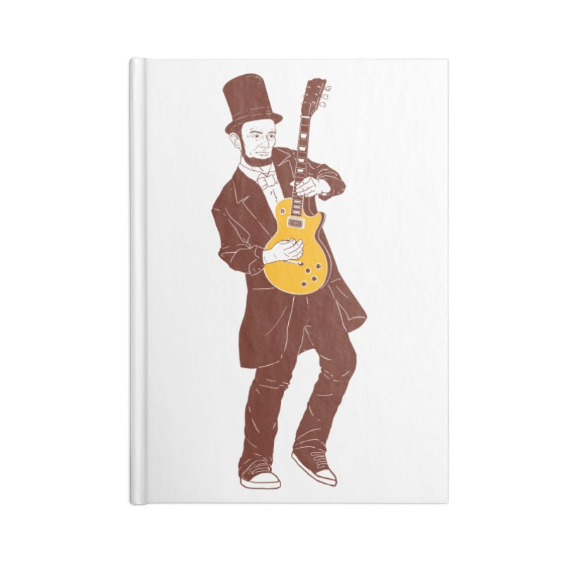 abraham slash Accessories Notebook by hd's Artist Shop