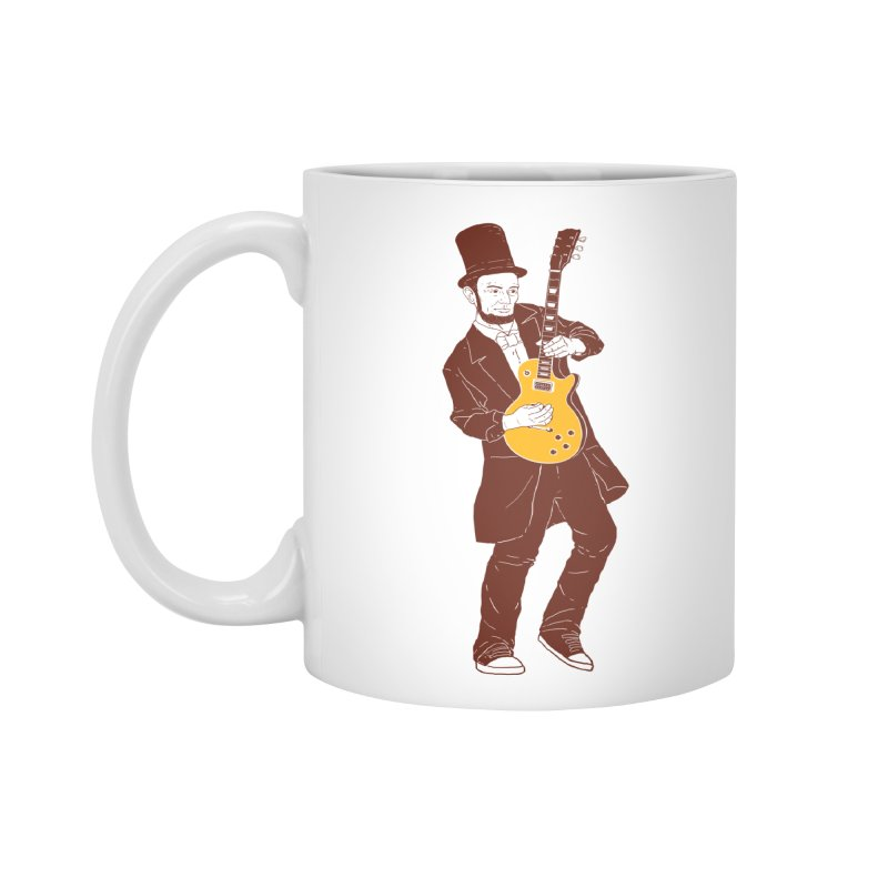 abraham slash Accessories Mug by hd's Artist Shop