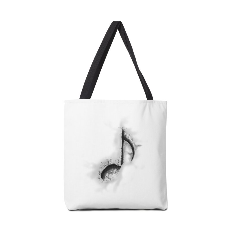 noted Accessories Bag by hd's Artist Shop