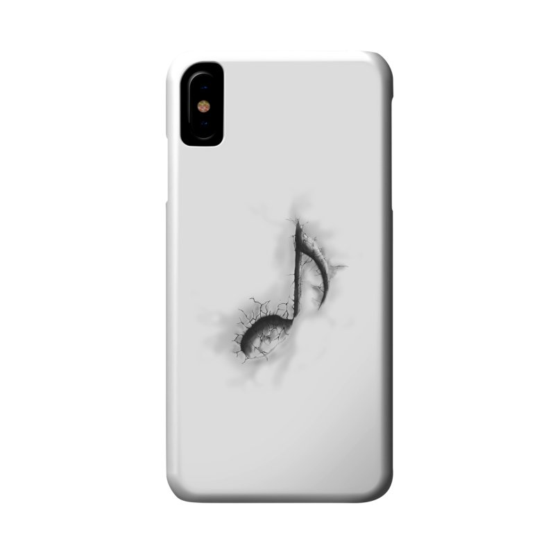 noted Accessories Phone Case by hd's Artist Shop