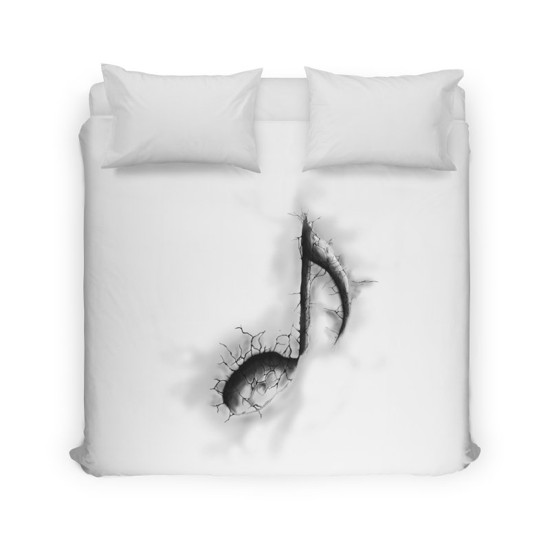 noted Home Duvet by hd's Artist Shop