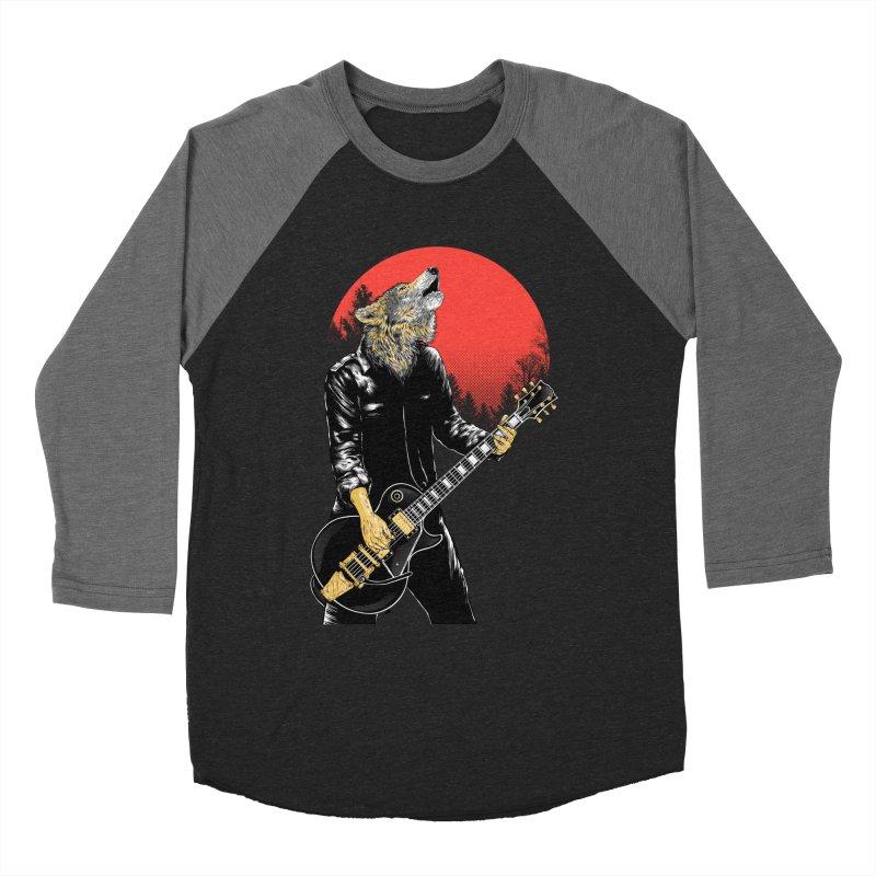 wolf band Men's Longsleeve T-Shirt by hd's Artist Shop