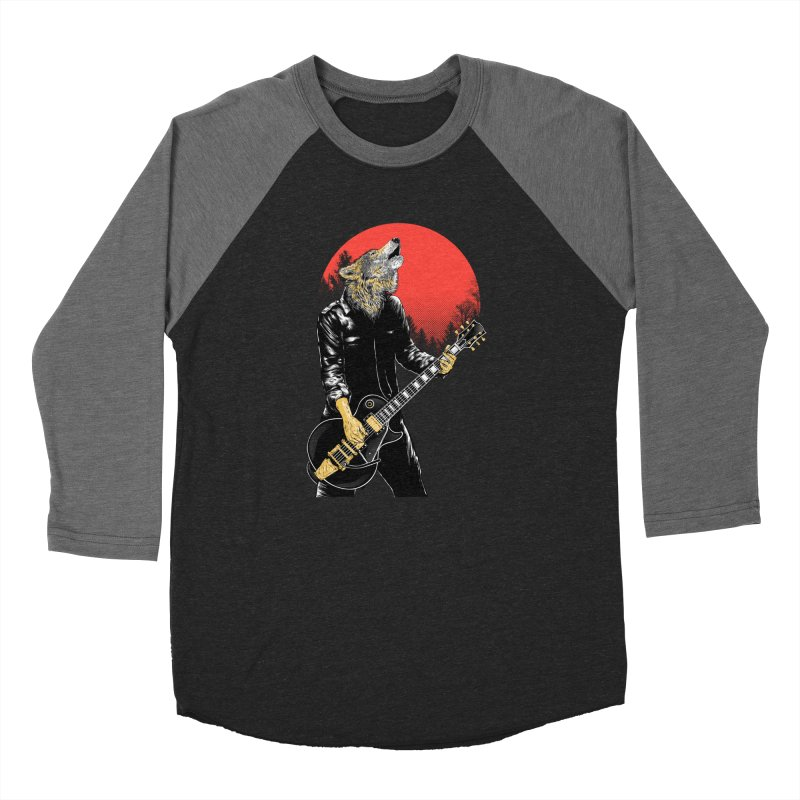 wolf band Women's Longsleeve T-Shirt by hd's Artist Shop