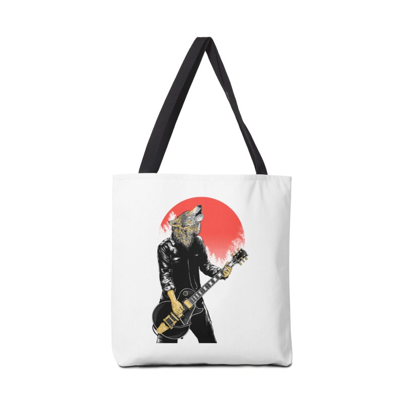wolf band Accessories Bag by hd's Artist Shop