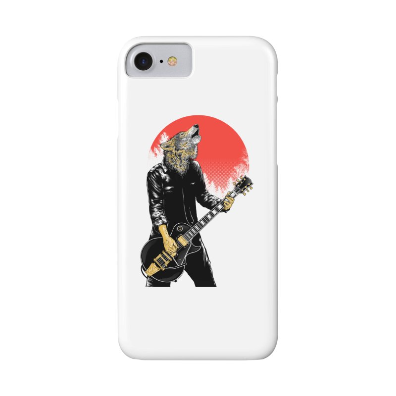 wolf band Accessories Phone Case by hd's Artist Shop