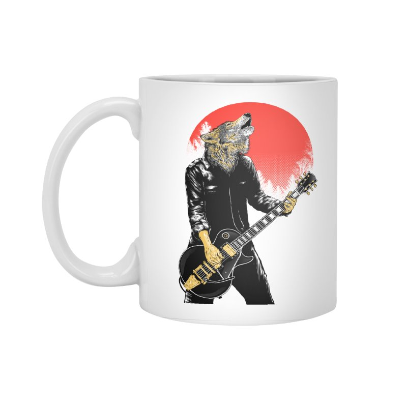 wolf band Accessories Mug by hd's Artist Shop