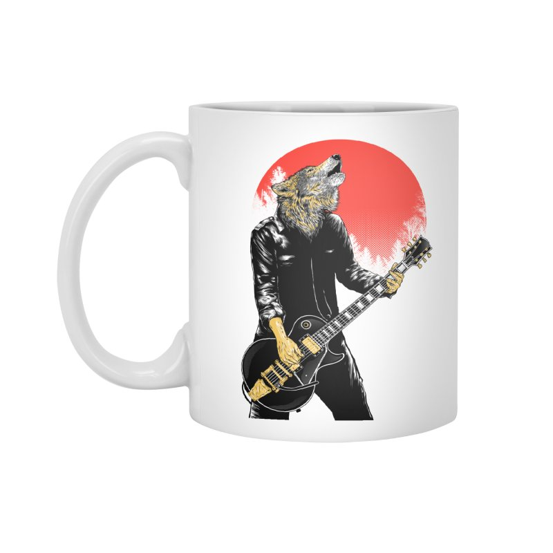 wolf band Accessories Standard Mug by hd's Artist Shop