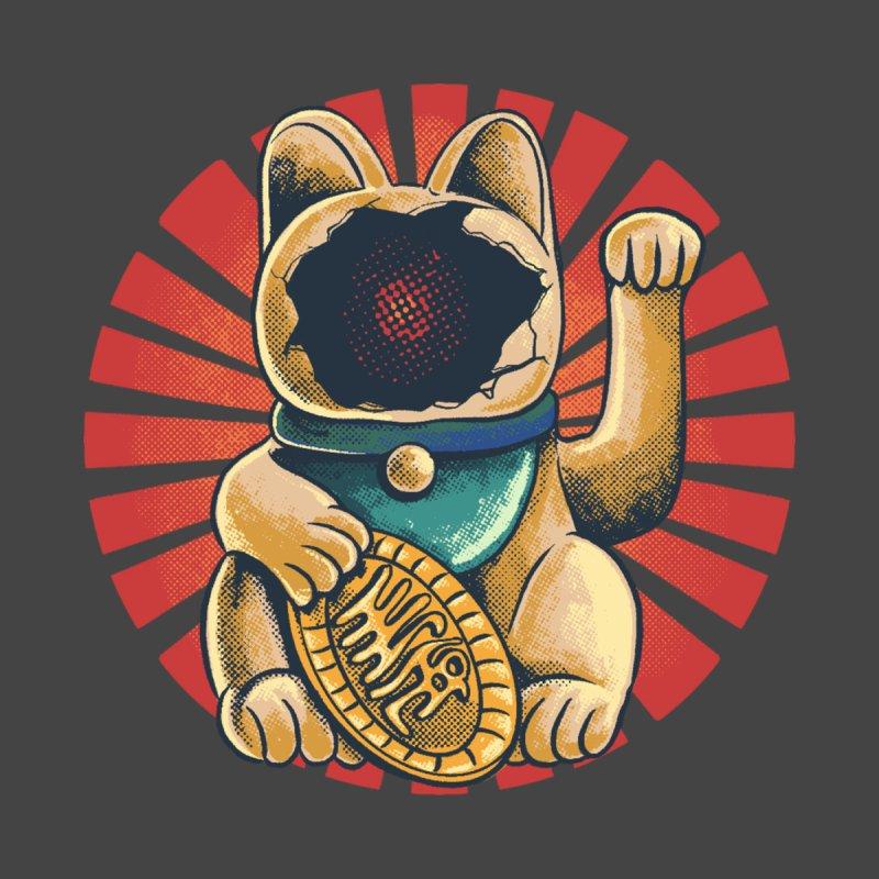 maneko neki broken cat Women's Longsleeve T-Shirt by hd's Artist Shop