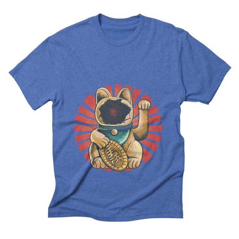 maneko neki broken cat Men's T-Shirt by hd's Artist Shop