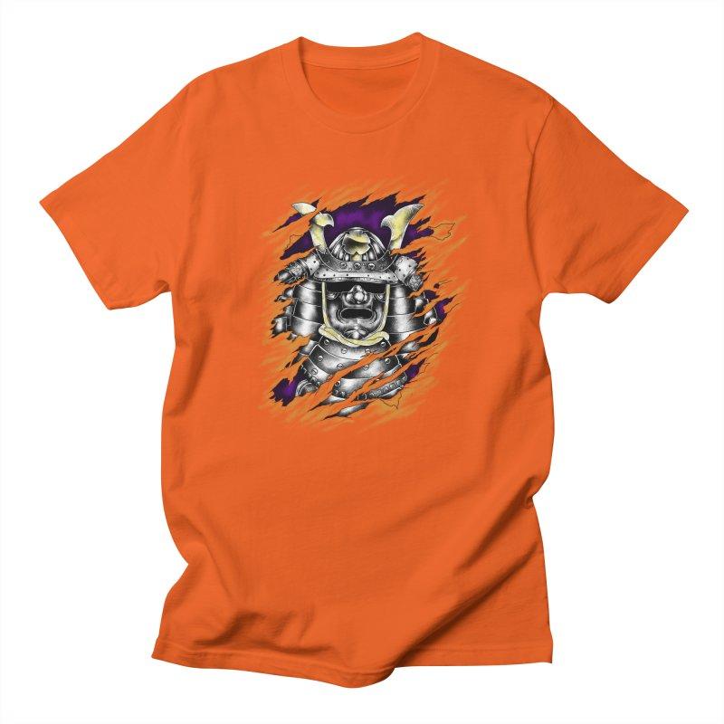 samurai Women's Regular Unisex T-Shirt by hd's Artist Shop