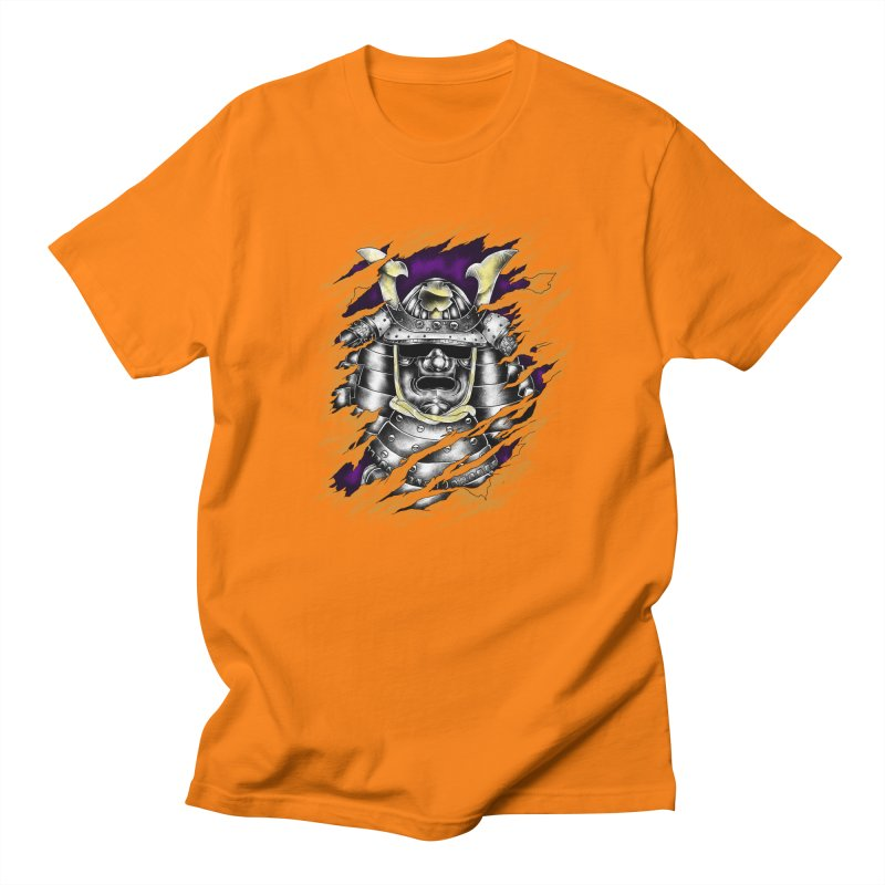 samurai Men's Regular T-Shirt by hd's Artist Shop