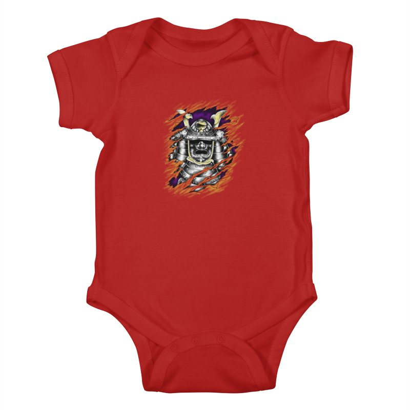 samurai Kids Baby Bodysuit by hd's Artist Shop