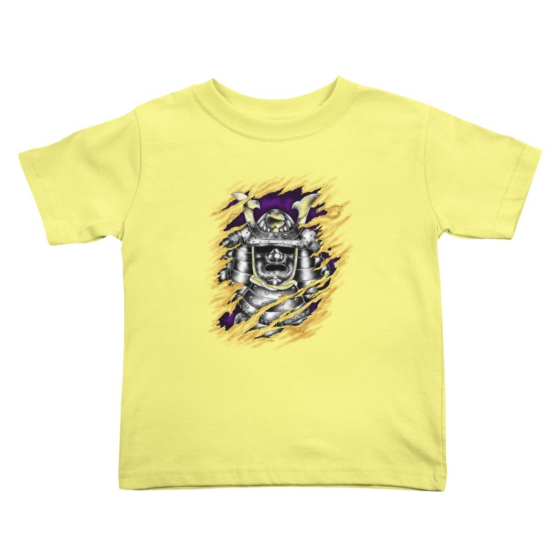 samurai Kids Toddler T-Shirt by hd's Artist Shop