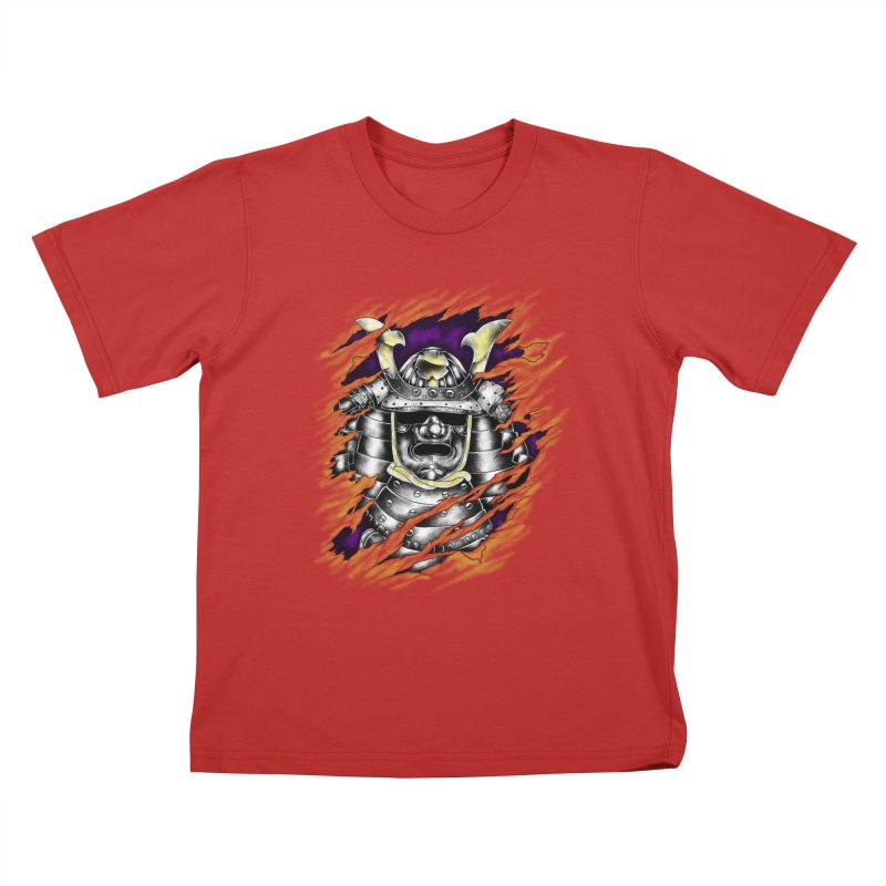 samurai Kids T-Shirt by hd's Artist Shop