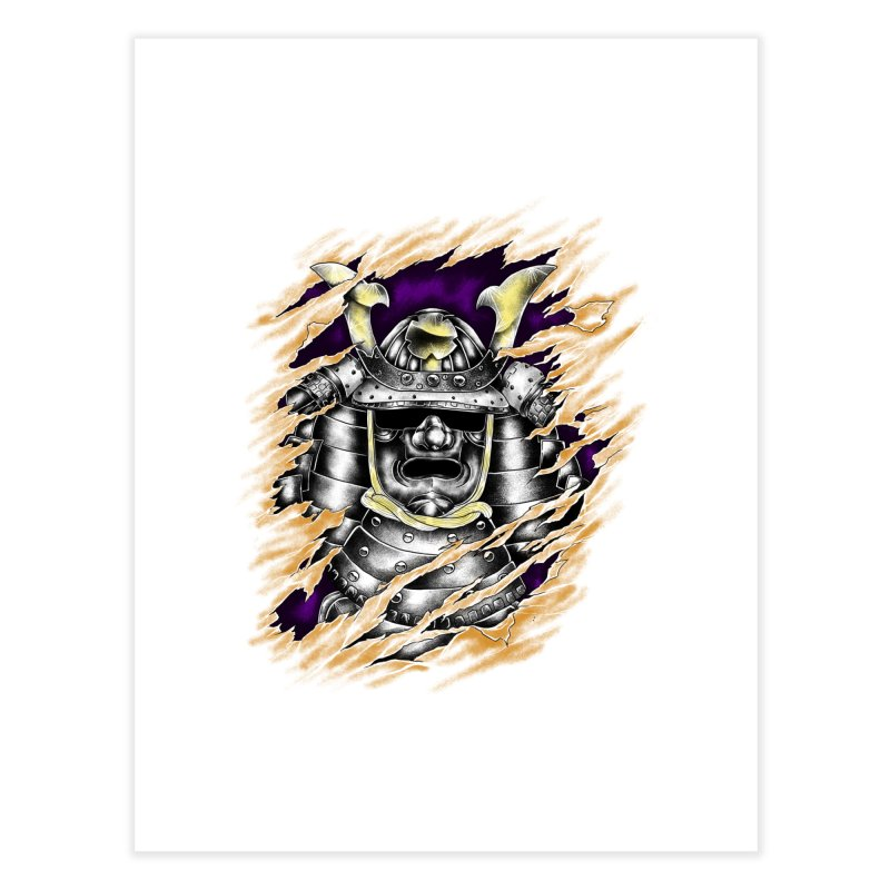 samurai Home Fine Art Print by hd's Artist Shop