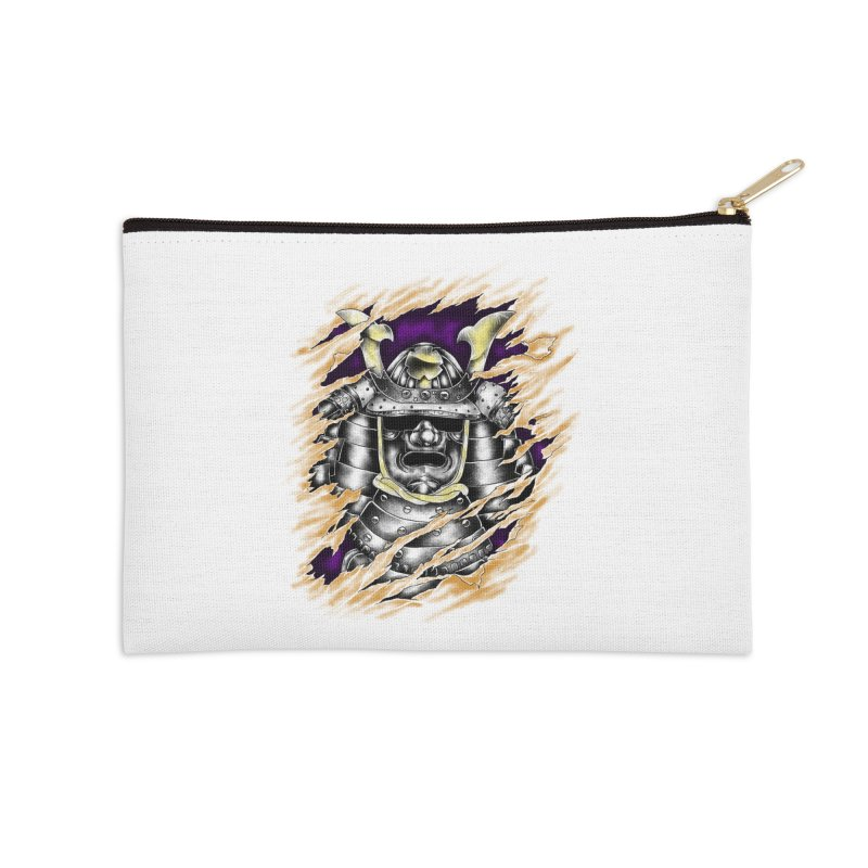 samurai Accessories Zip Pouch by hd's Artist Shop
