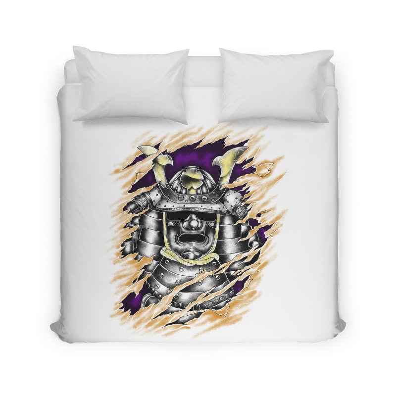 samurai Home Duvet by hd's Artist Shop