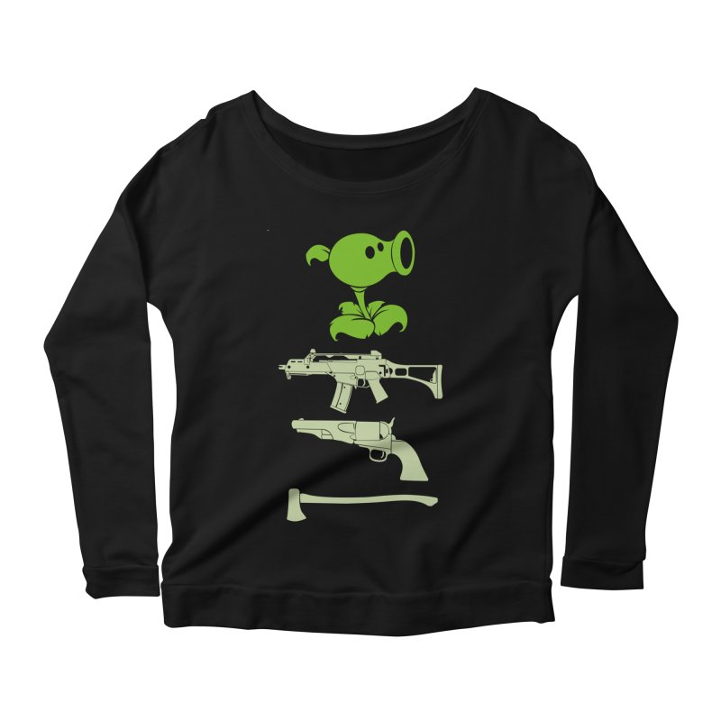 choose yours Women's Scoop Neck Longsleeve T-Shirt by hd's Artist Shop
