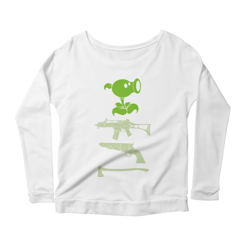 choose yours Women's Longsleeve Scoopneck  by hd's Artist Shop
