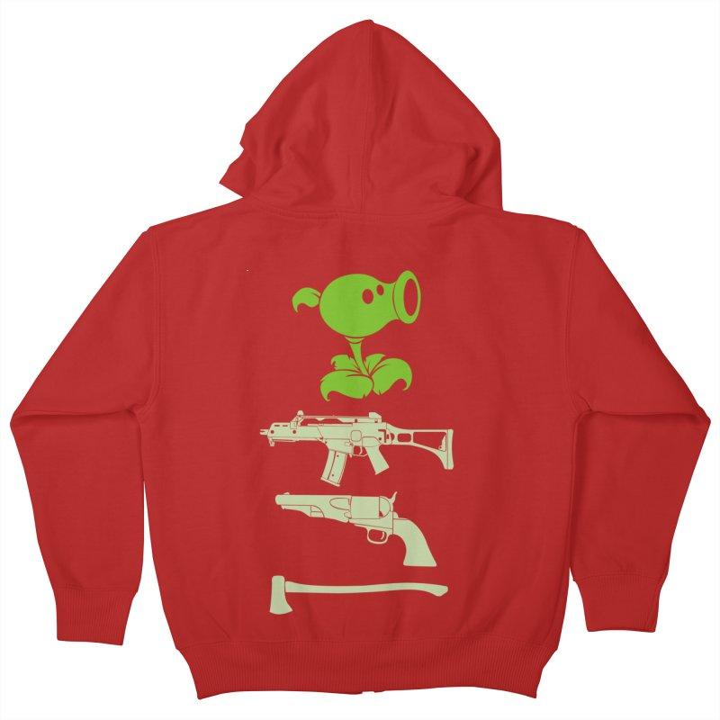 choose yours Kids Zip-Up Hoody by hd's Artist Shop