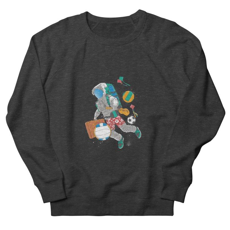 astronaut on vacation Men's Sweatshirt by hd's Artist Shop