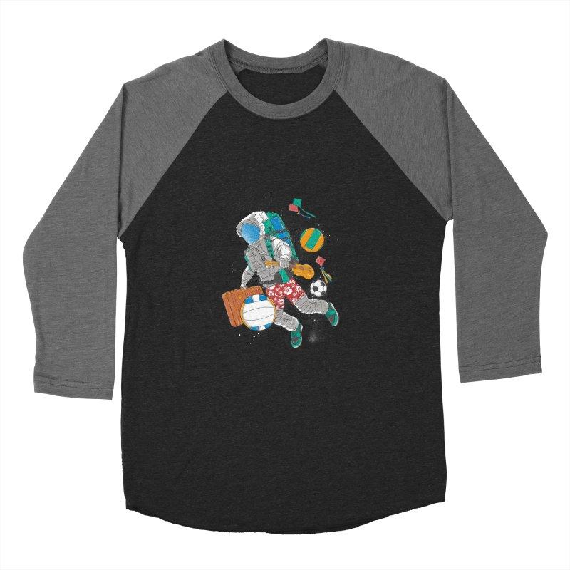 astronaut on vacation Men's Longsleeve T-Shirt by hd's Artist Shop