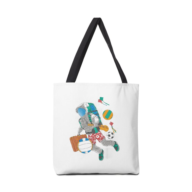 astronaut on vacation Accessories Bag by hd's Artist Shop