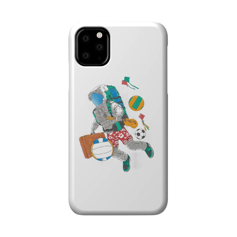 astronaut on vacation Accessories Phone Case by hd's Artist Shop
