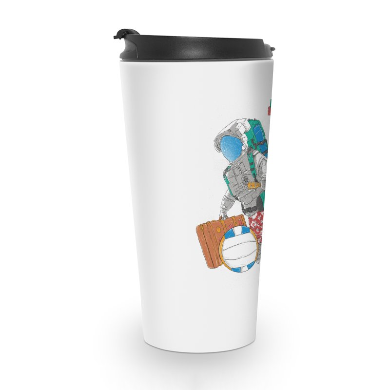 astronaut on vacation Accessories Travel Mug by hd's Artist Shop