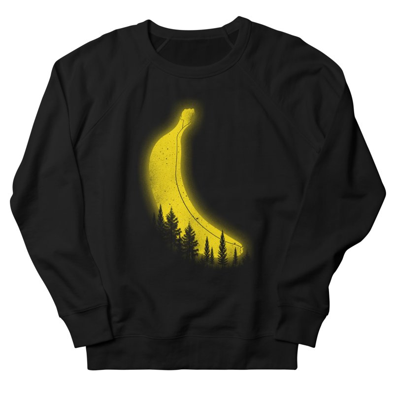 MOONana Men's French Terry Sweatshirt by hd's Artist Shop