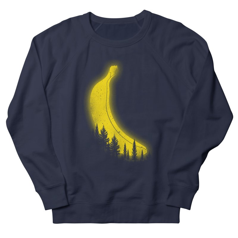 MOONana Men's French Terry Sweatshirt by hd's Artist Shop