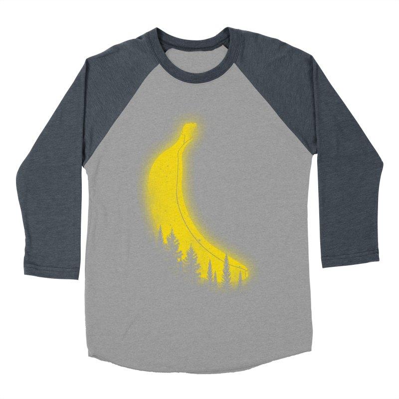 MOONana Men's Baseball Triblend T-Shirt by hd's Artist Shop