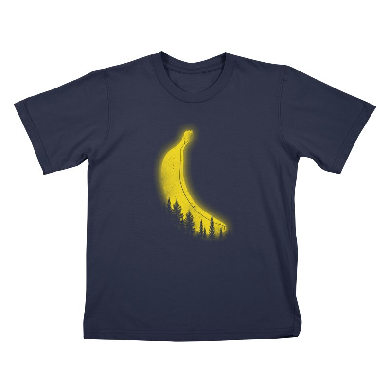 MOONana Kids T-Shirt by hd's Artist Shop