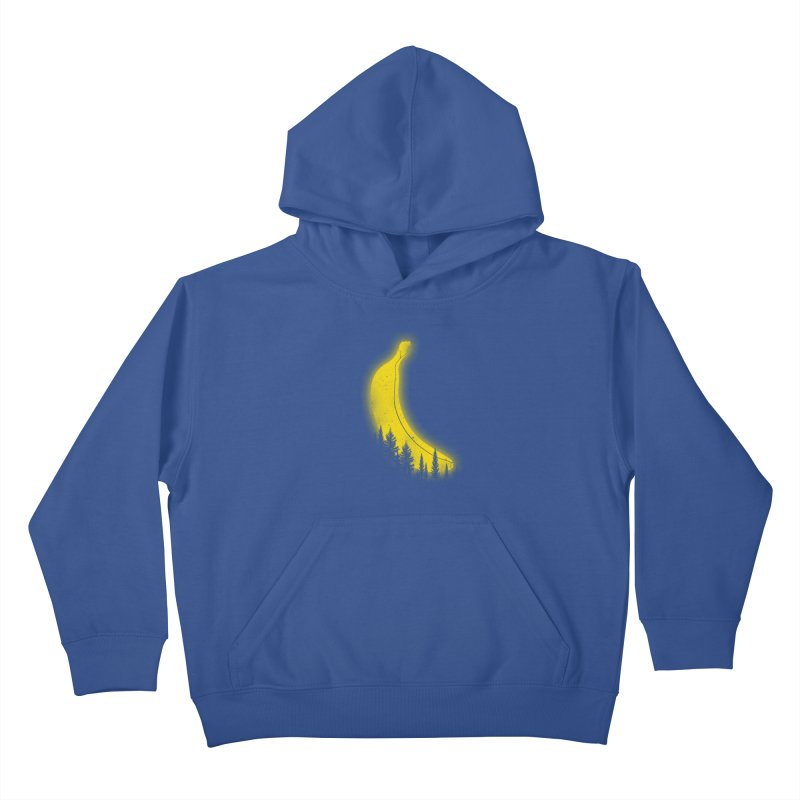 MOONana Kids Pullover Hoody by hd's Artist Shop