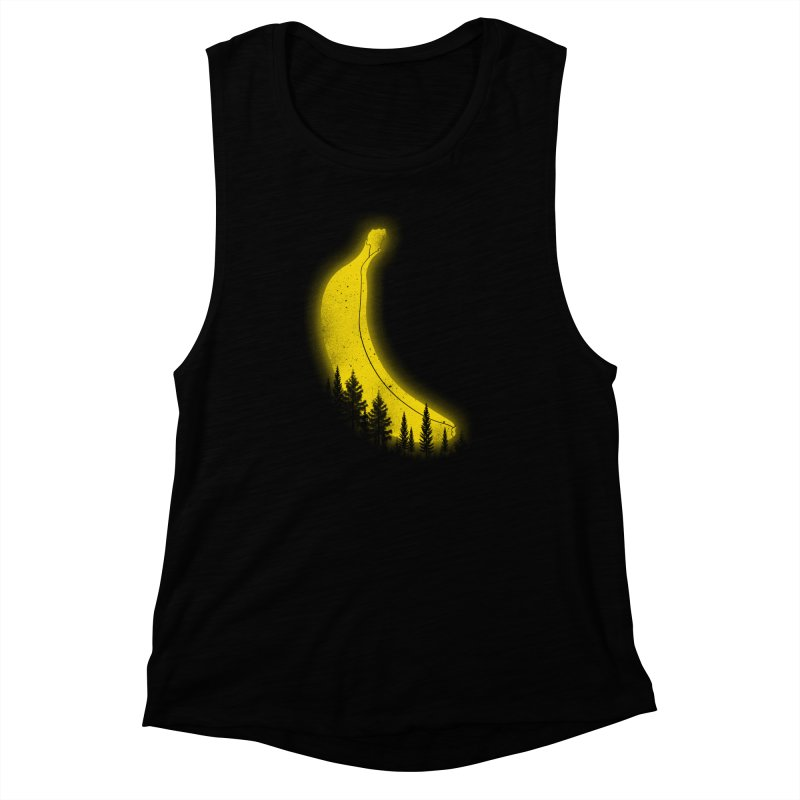 MOONana Women's Muscle Tank by hd's Artist Shop