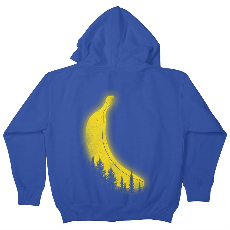 MOONana Kids Zip-Up Hoody by hd's Artist Shop