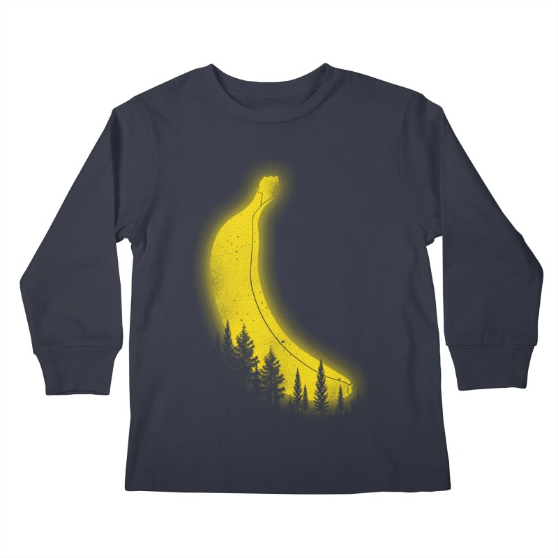 MOONana Kids Longsleeve T-Shirt by hd's Artist Shop