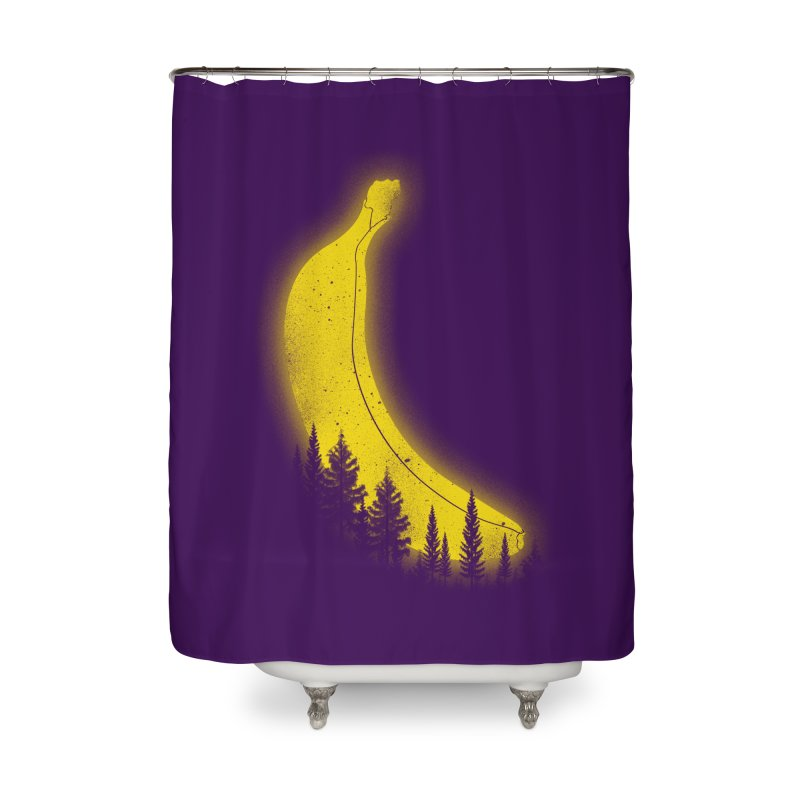 MOONana Home Shower Curtain by hd's Artist Shop