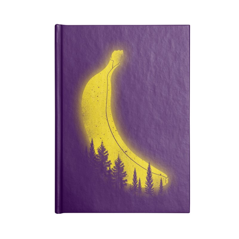 MOONana Accessories Lined Journal Notebook by hd's Artist Shop